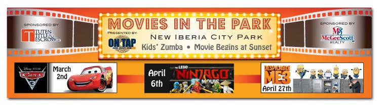 Movies in the park new iberia